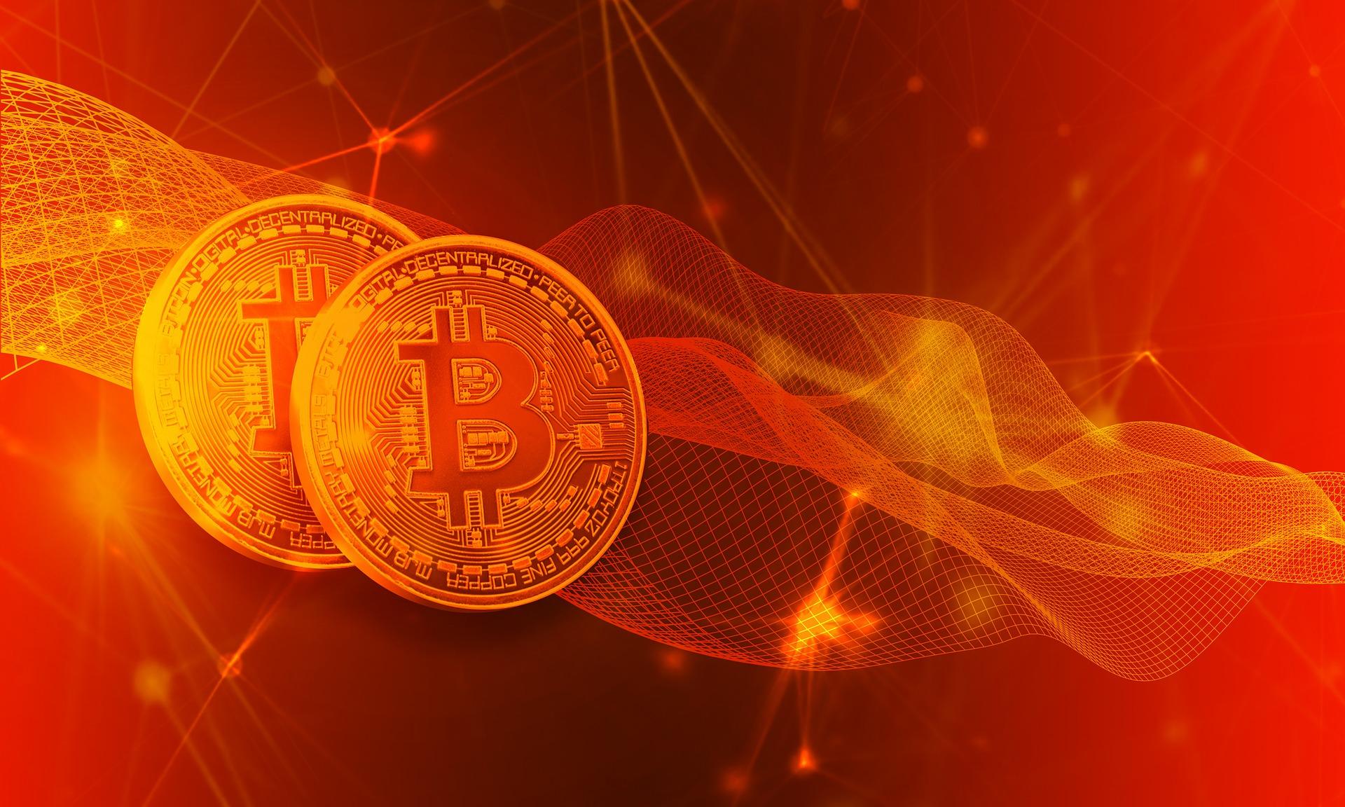 Bewegungen von Kryptogeld bei Bitcoin Era