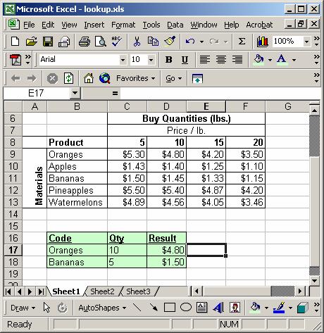 Listen und Tabellen in Excel erstellen